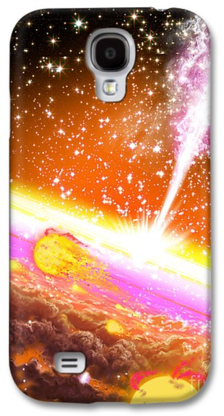 A Giant Black Hole At The Center Galaxy S4 Case