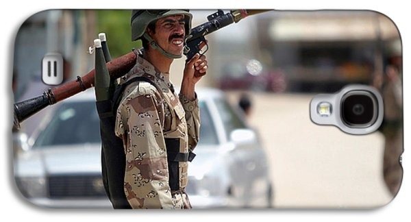 A Member Of The Iraqi Security Force Galaxy S4 Case by Stocktrek Images