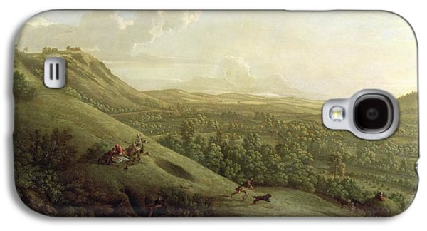 A View Of Boxhill - Surrey Galaxy S4 Case by George Lambert