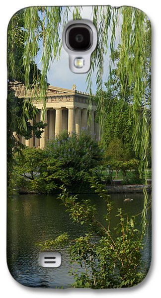 A View Of The Parthenon 3 Galaxy S4 Case