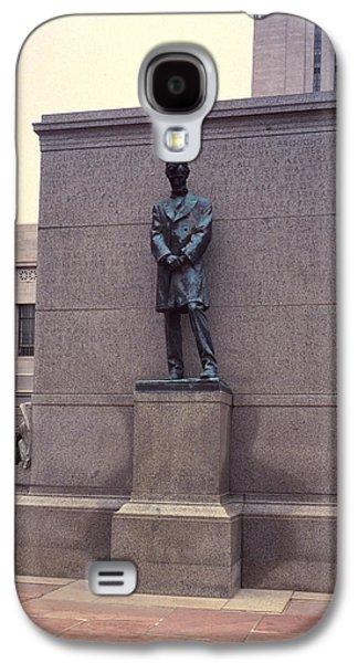 Abraham Lincoln Statue Galaxy S4 Case