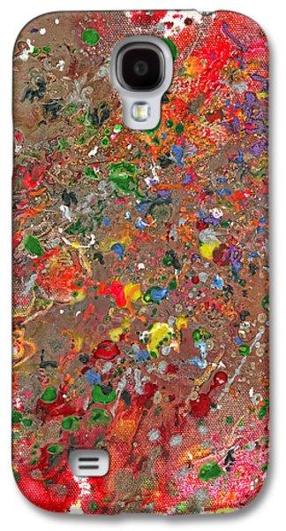 Abstract - Crayon - Montazuma's Revenge Galaxy S4 Case
