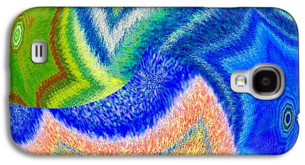Abstract Fusion 155 Galaxy S4 Case