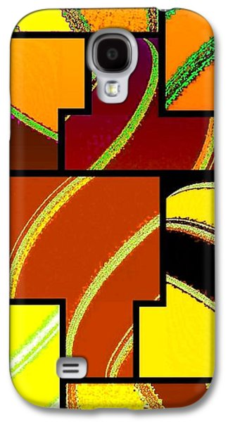 Abstract Fusion 92 Galaxy S4 Case