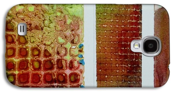 abstract One Galaxy S4 Case