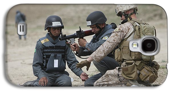 Afghan Police Students Assemble A Rpg-7 Galaxy S4 Case by Terry Moore