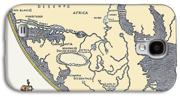 Africa, From Fra Mauro's World Map, 1457 Galaxy S4 Case