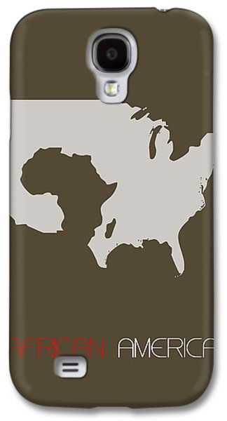 African America Poster Galaxy S4 Case