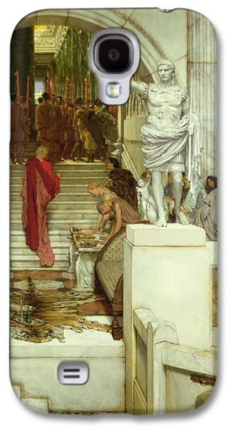 After The Audience Galaxy S4 Case by Sir Lawrence Alma-Tadema