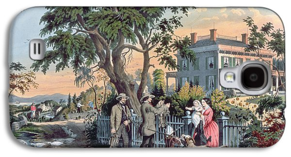 After The Hunt Galaxy S4 Case by Currier and Ives