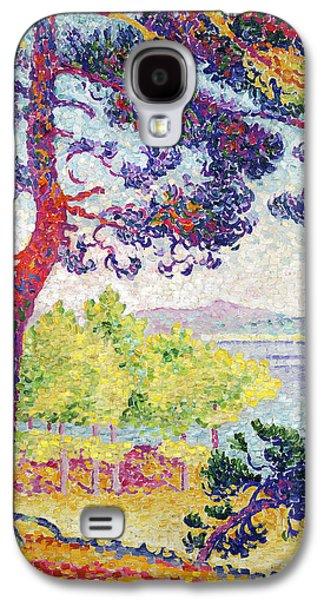Afternoon At Pardigon Galaxy S4 Case by Henri-Edmond Cross