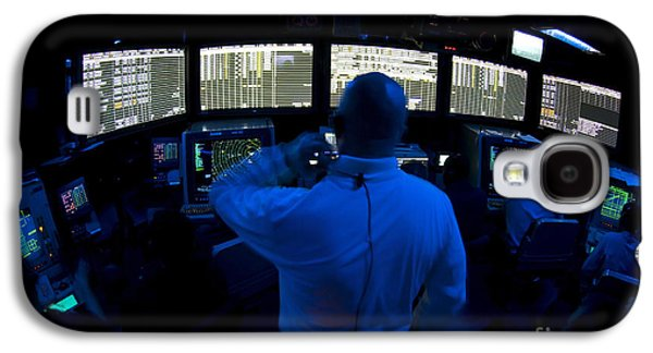 Air Traffic Controller Watches Galaxy S4 Case by Stocktrek Images