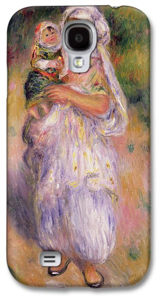 Algerian Woman And Child Galaxy S4 Case by Pierre Auguste Renoir