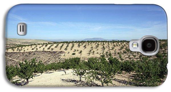 Almond Plantation Galaxy S4 Case