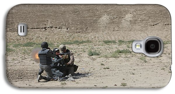 An Afghan Police Studen Fires Galaxy S4 Case by Terry Moore