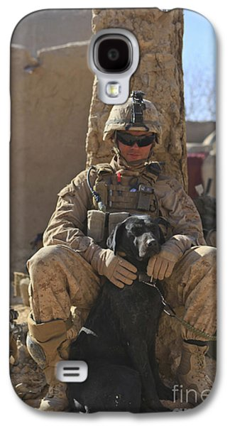 An Ied Detection Dog Keeps His Dog Galaxy S4 Case by Stocktrek Images