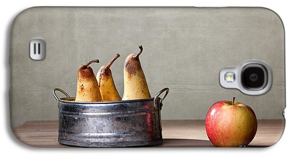 Pear Galaxy S4 Case - Apple And Pears 01 by Nailia Schwarz