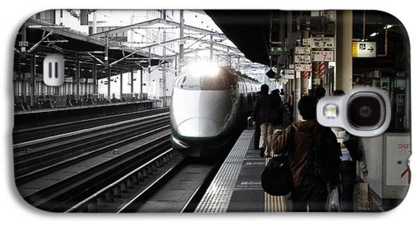 Train Galaxy S4 Case - Arriving Train by Naxart Studio
