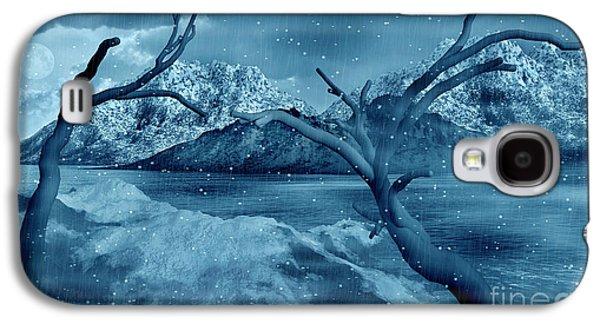Artists Concept Of A Dangerous Snow Galaxy S4 Case by Mark Stevenson