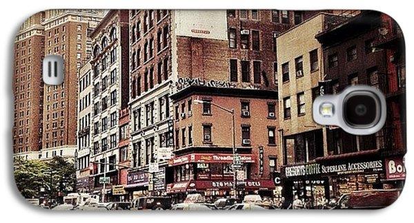 As The Rain Falls - New York City Galaxy S4 Case