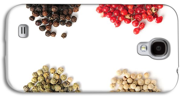 Assorted Peppercorns Galaxy S4 Case by Elena Elisseeva