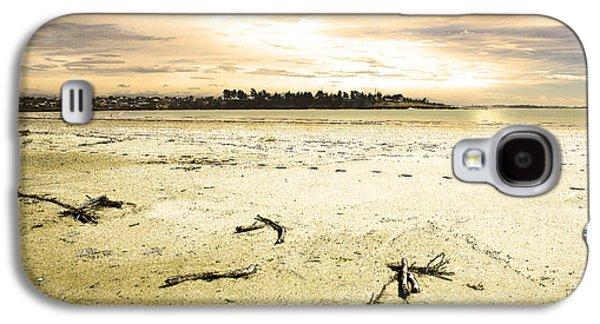 Galaxy S4 Case featuring the photograph At Caroline Bay Timaru New Zealand by Nareeta Martin
