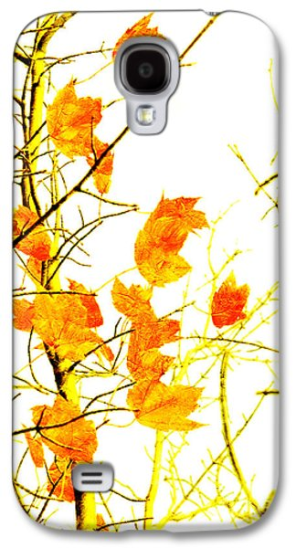 Autumn Leaves Abstract Galaxy S4 Case by Andee Design