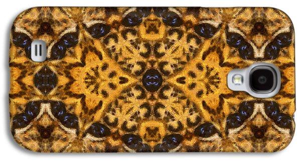 Autumn Mandala Galaxy S4 Case by Georgiana Romanovna