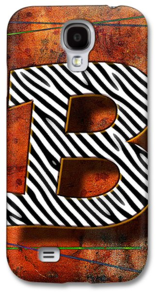 B Galaxy S4 Case by Mauro Celotti