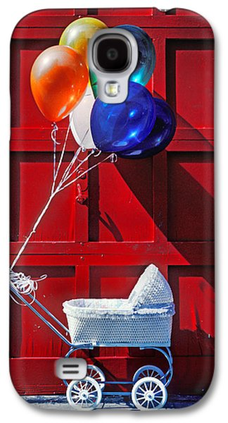 Baby Buggy With Balloons  Galaxy S4 Case