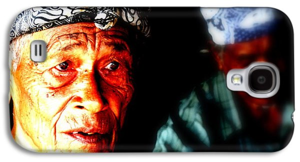 Balinese Old Man Galaxy S4 Case by Funkpix Photo Hunter