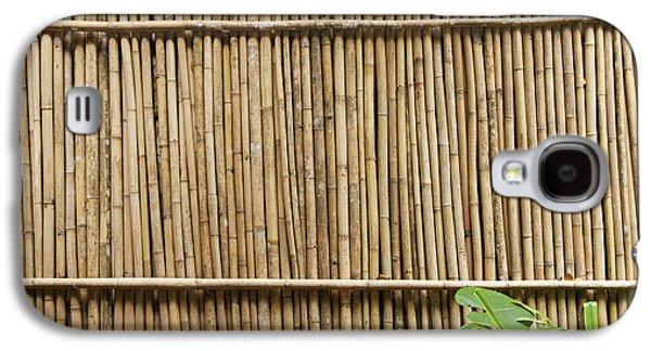 Bamboo Fence Galaxy S4 Case by Don Mason