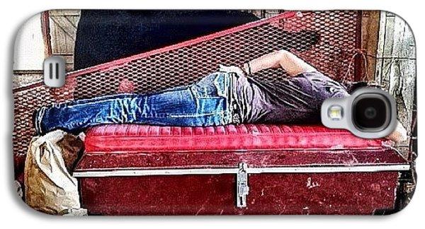Ohio Galaxy S4 Case - Barn Nap by Natasha Marco