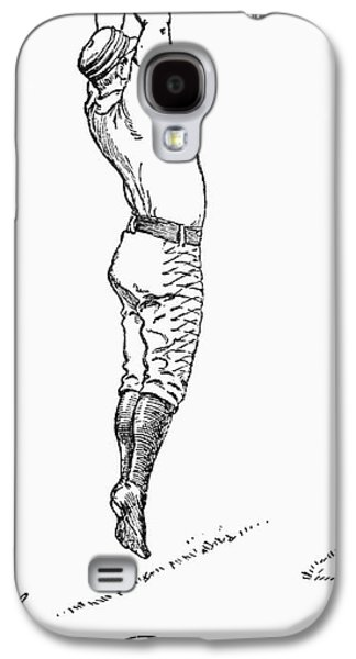 Baseball Player, 1889 Galaxy S4 Case by Granger