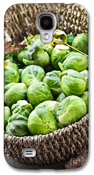 Basket Of Brussels Sprouts Galaxy S4 Case
