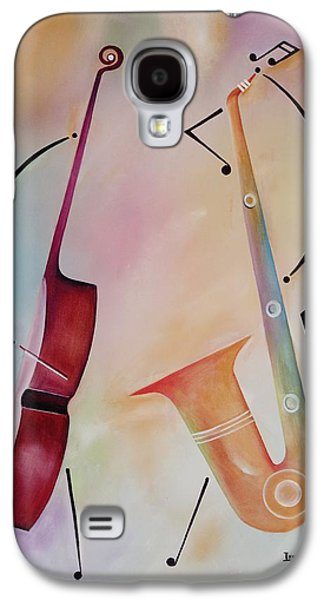 Bass And Sax Galaxy S4 Case by Ikahl Beckford