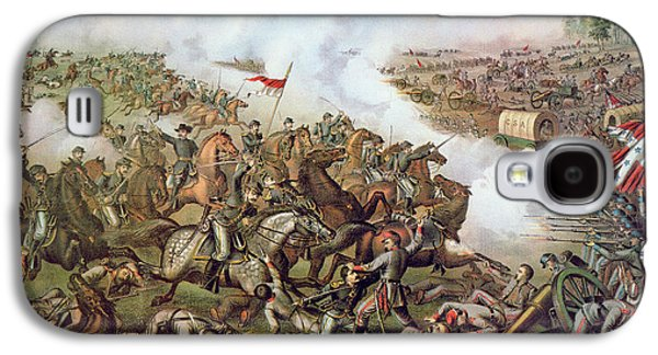 Battle Of Five Forks Virginia 1st April 1865 Galaxy S4 Case by American School