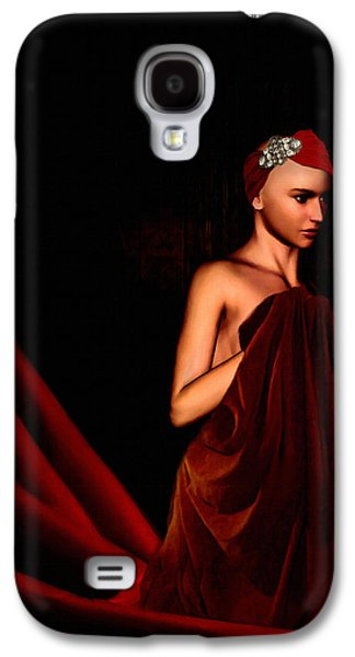 Beautifully Red Galaxy S4 Case
