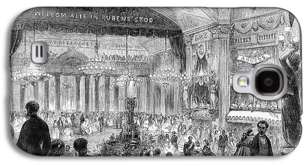 Beaux Arts Ball, 1861 Galaxy S4 Case