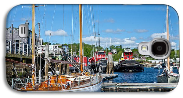 Belfast Harbor Galaxy S4 Case by Susan Cole Kelly