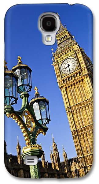 Big Ben And Palace Of Westminster Galaxy S4 Case by Elena Elisseeva
