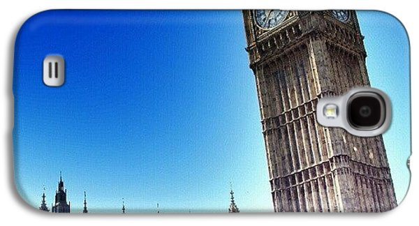 #bigben #uk #england #london2012 Galaxy S4 Case by Abdelrahman Alawwad