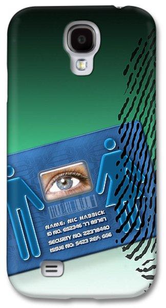Biometric Id Card Galaxy S4 Case