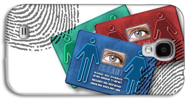 Biometric Id Cards Galaxy S4 Case