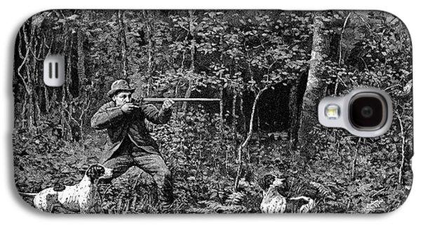 Woodcock Galaxy S4 Case - Bird Shooting, 1886 by Granger
