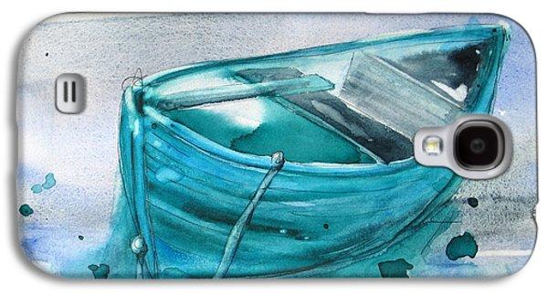 Blue Boat Galaxy S4 Case