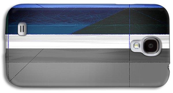 Blue Flag Galaxy S4 Case by Naxart Studio