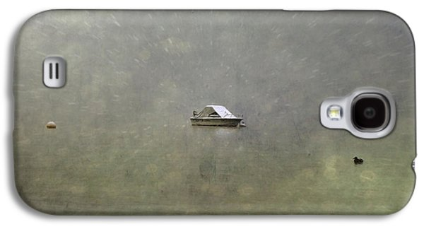 Boat In The Snow Galaxy S4 Case by Joana Kruse