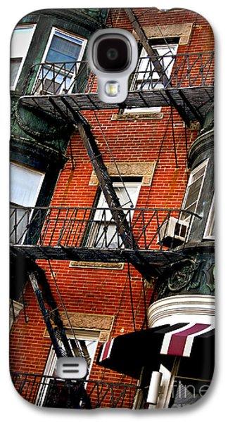 Boston House Fragment Galaxy S4 Case by Elena Elisseeva