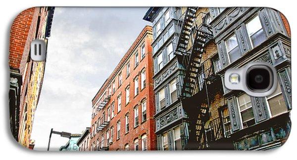Boston Street Galaxy S4 Case by Elena Elisseeva